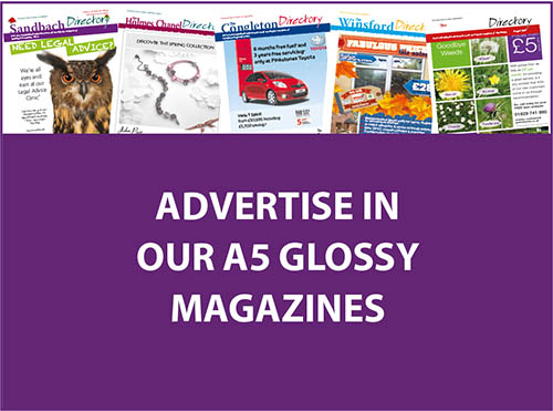 BOOK YOUR ADVERT NOW!!